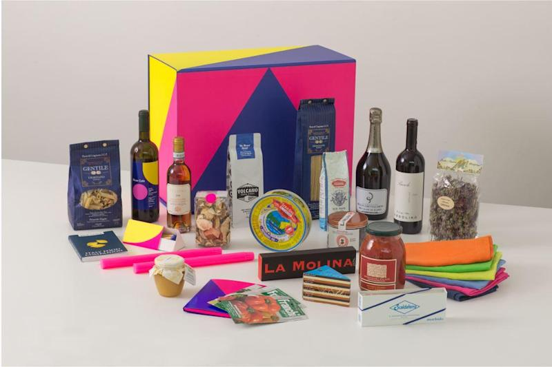 Italian treats: One of River Cafe's Christmas gift boxes