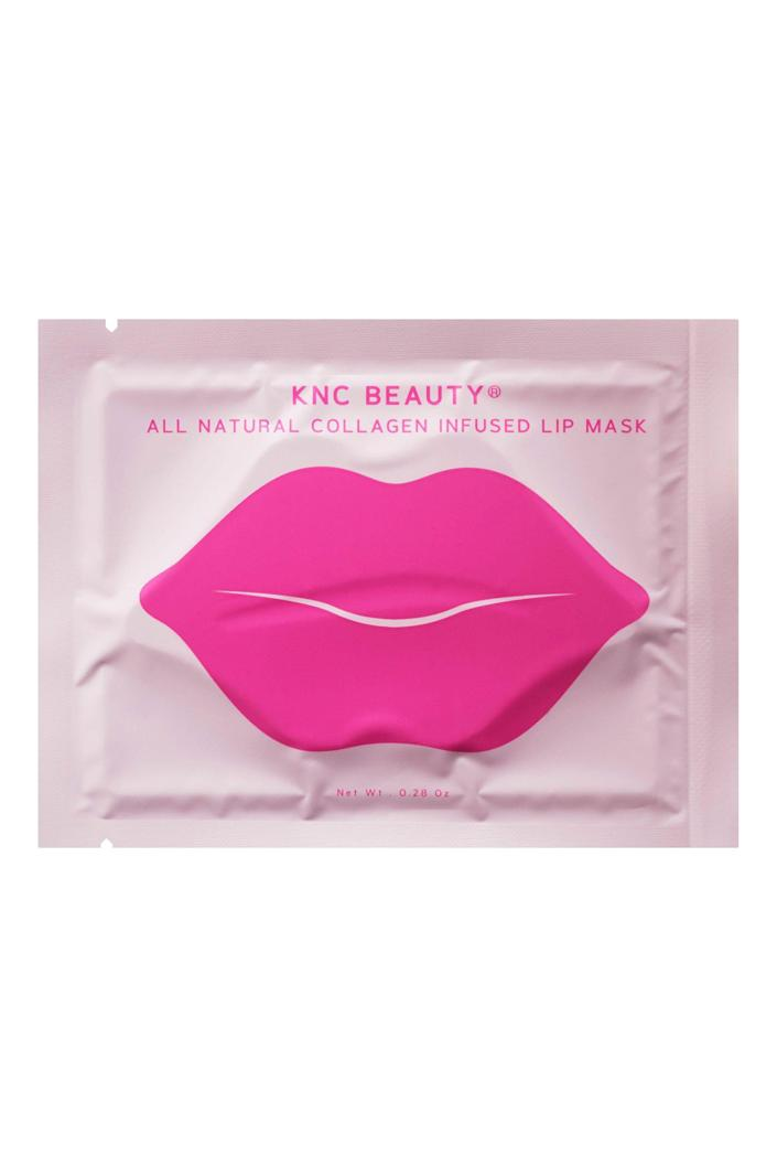 """<p>kncbeauty.com</p><p><strong>$2510.00</strong></p><p><a href=""""https://kncbeauty.com/products/all-natural-collagen-infused-lip-mask-10-pack"""" rel=""""nofollow noopener"""" target=""""_blank"""" data-ylk=""""slk:Shop Now"""" class=""""link rapid-noclick-resp"""">Shop Now</a></p><p>These Insta-famous masks are worth their weight in selfies. </p>"""