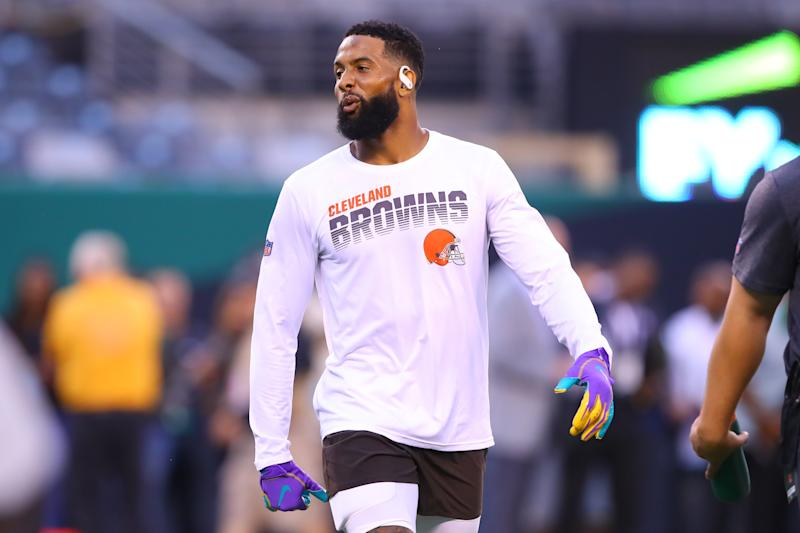 Watch me now: Timepiece brand Daniel Wellington announced a partnership with Odell Beckham Jr. on Wednesday. (Getty Images)