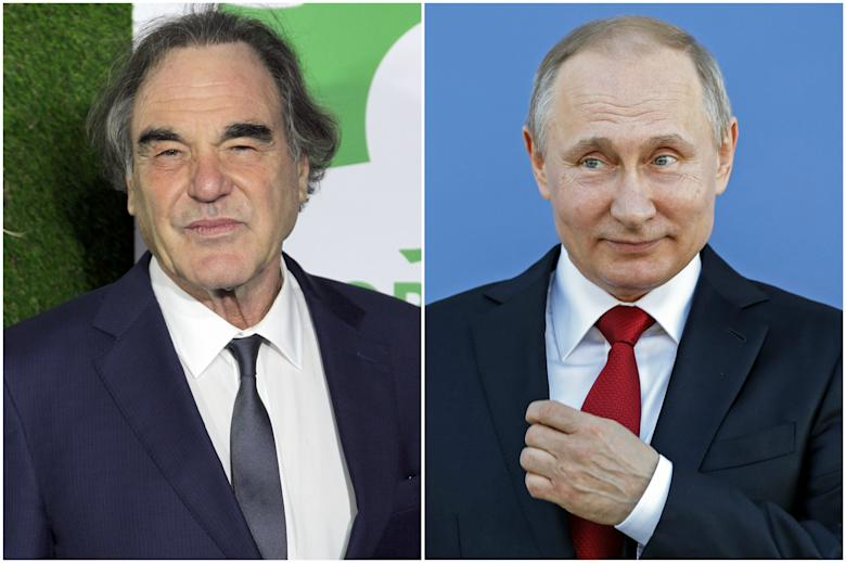 Oliver Stone Interviews Putin for Documentary