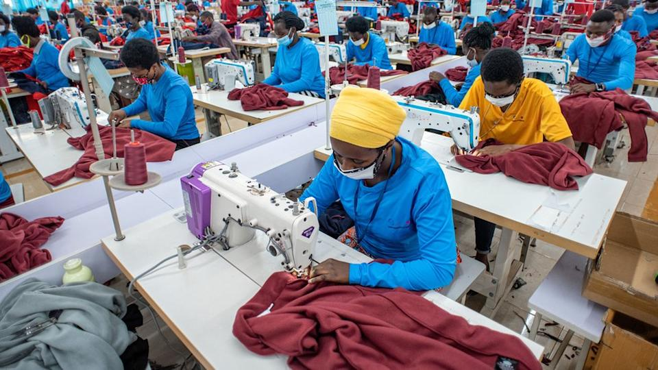 Rwanda is working hard to build up its garment industry