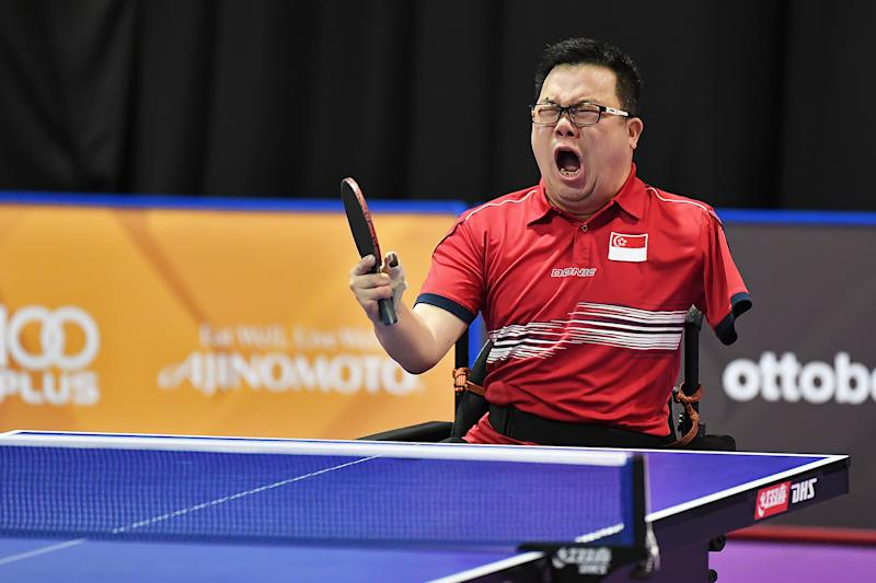 Jason Chee wins his first Asean Para Games individual gold