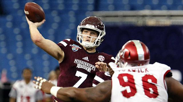 A look at Mississippi State, which checks in at No. 24 in Sporting News' Top 25 heading into Joe Moorhead's first season.