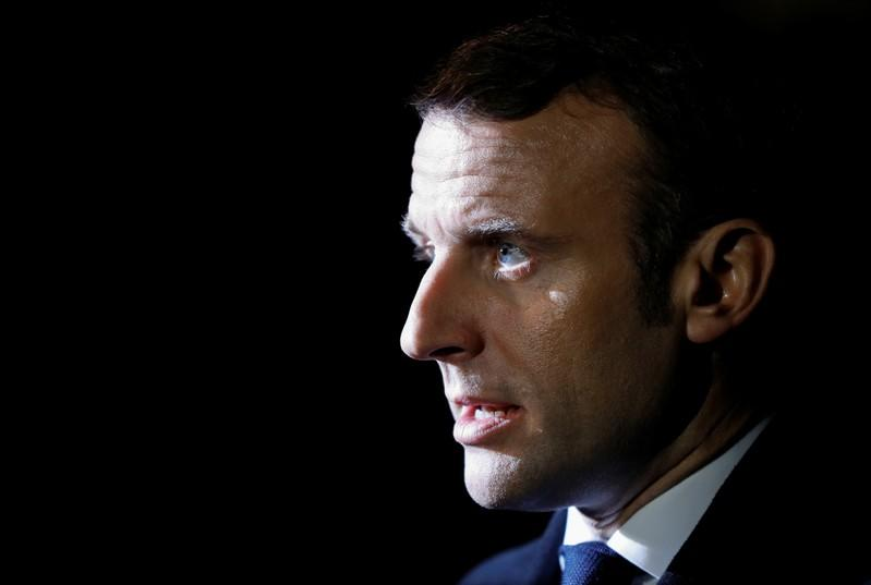 Macron says time for Turkey to clarify ambiguous stance on Islamic State