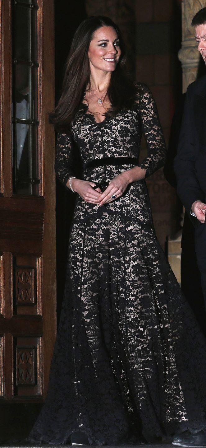 <p>And she wore it a third time for a screening of David Attenborough's Natural History Museum Alive in London. </p>