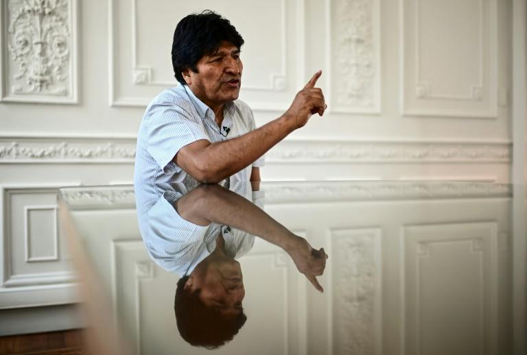 Evo Morales, who spoke to AFP in Buenos Aires in December, says he will return to Bolivia to lead his Movement for Socialism party's presidential election campaign