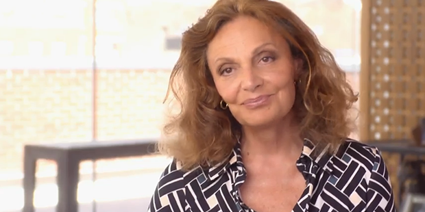 MAKERS Highlight: Diane von Furstenberg on Designing for the Liberated Woman