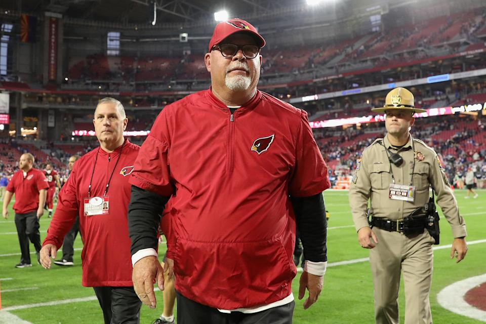 Bruce Arians was the Arizona Cardinals' head coach from 2013-2017. (Getty Images)