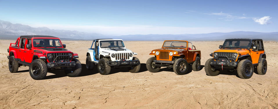 Collection of Jeep concepts
