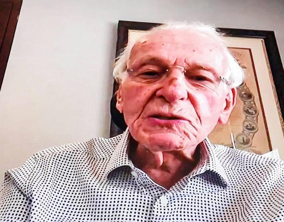Billionaire anti-gambling activist Norman Braman joins in an online conversation with Miami Beach Mayor Dan Gelber and fellow gambling foe Armando Codina as they lay out details of lobbying efforts to bring casino gambling to Miami Beach on Wednesday, March 17, 2021.