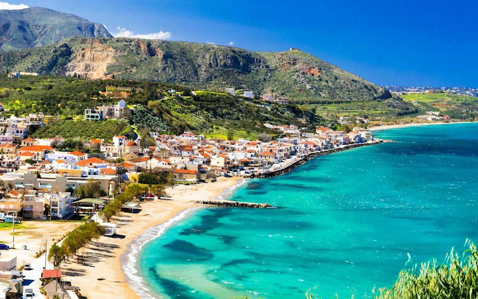 Consider Crete for August - Getty