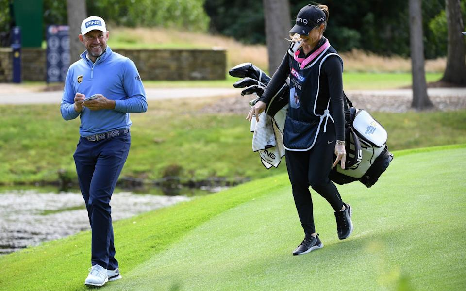 Westwood and his fiancee Helen, who is also his caddie, will stay in England - Getty Images