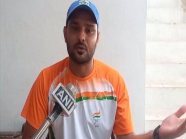 Paralympic shooter, Deependra Singh (Photo/ANI)