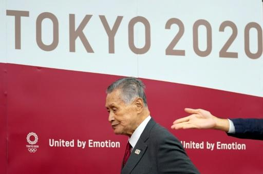 """Yoshiro Mori, president of the 2020 Tokyo organising committee, said """"the world has changed"""" and next yeasr's Games would change with it"""