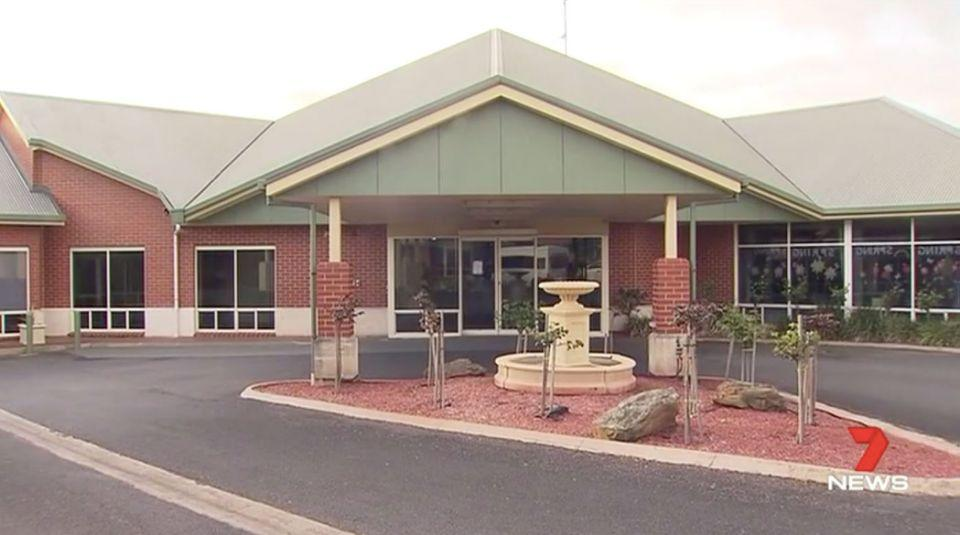 Loved ones arrived at Boandik in Mount Gambier to find that Mr Charles had died half an hour earlier. Source: 7 News