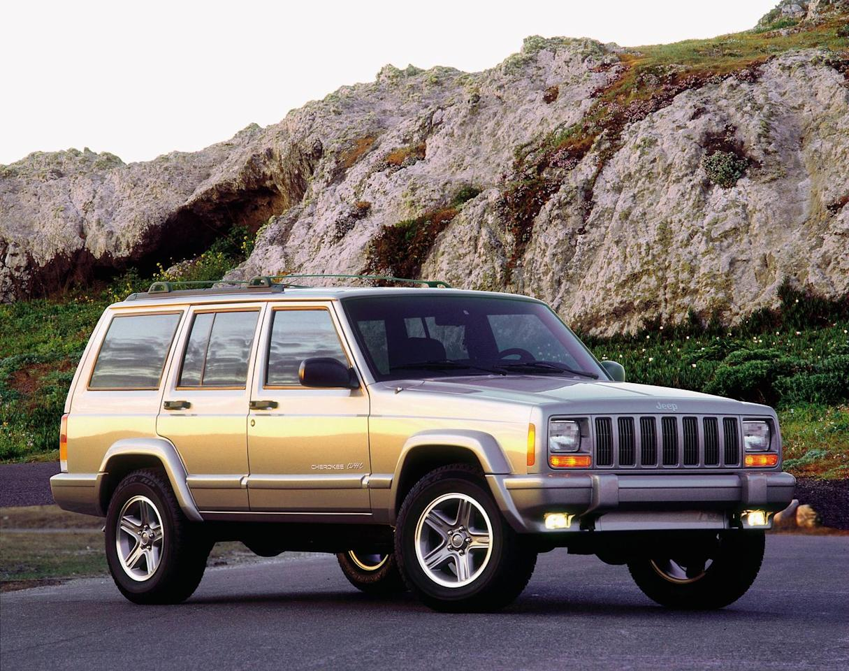 """<p>The 4.0-liter inline-six Cherokee is one of our all-time favorites, even today. Apparently, we aren't the only ones who dream of waking up to one in our parking space. The <a href=""""https://www.caranddriver.com/jeep/cherokee"""" target=""""_blank"""">Jeep Cherokee</a> and <a href=""""https://www.caranddriver.com/jeep/grand-cherokee"""" target=""""_blank"""">Grand Cherokee</a> replace the Chevrolet Impala as the 10th most stolen car of the year, with 9818 total stolen across all model years. We'd suggest you start locking your Jeep before someone comes and takes it, or you can just sell it to anyone here on staff.</p>"""