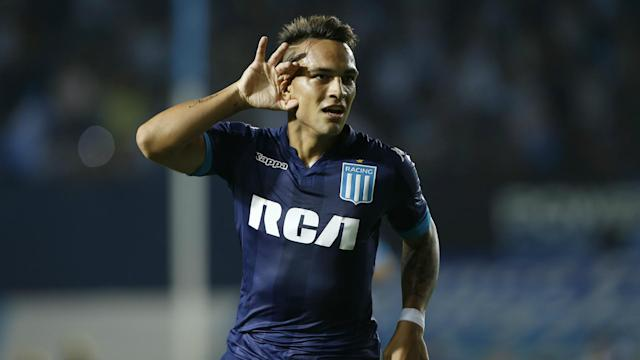 """Everything is almost set"" for Lautaro Martinez's switch to Serie A, according to the young Argentina forward."