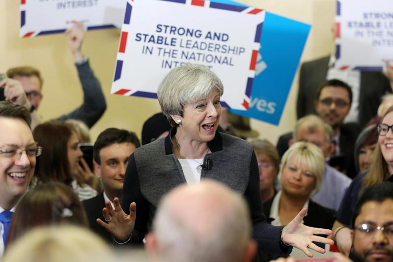 Theresa May knows that nothing unites a party like an election