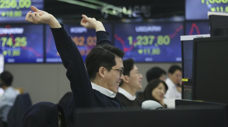 Markets enjoy second day of growth as virus fears ease