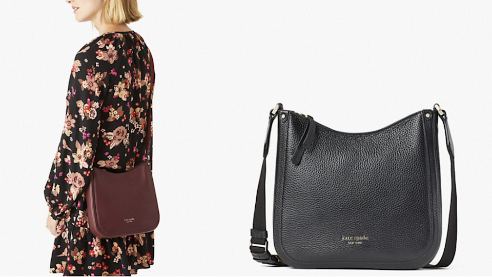 This messenger bag works for casual days and fancier nights.