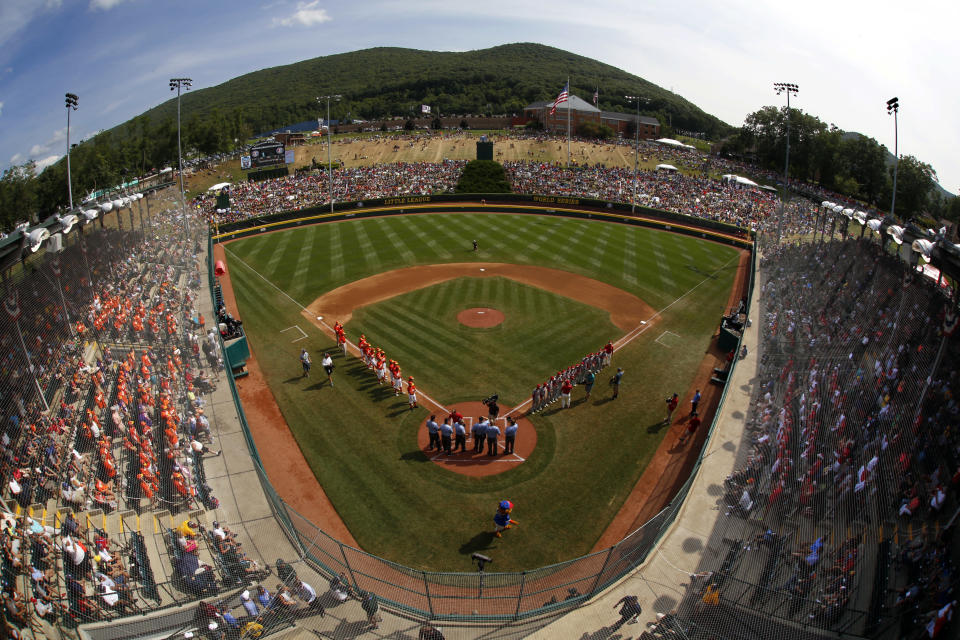 When Whalley heads to Williamsport, Pennsylvania, this week to represent Canada in the Little League World Series, it will do so without one of its best players — who has to stay in Canada due to an immigration issue. (AP).