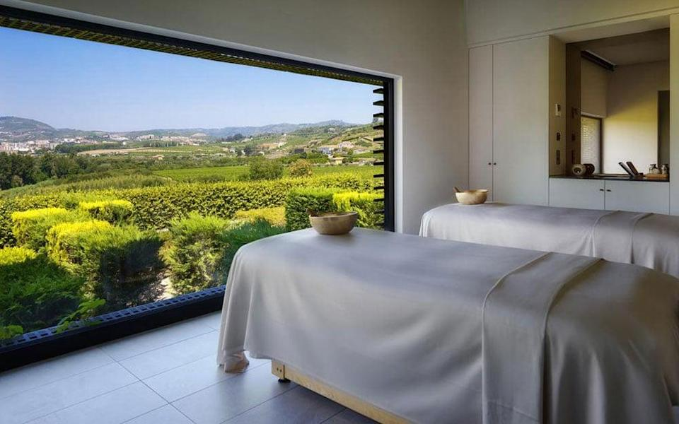 At Six Senses Douro Valley you can learn how to sync breathing with movement
