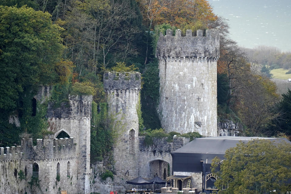A photo of Gwrych Castle in Abergele. (Photo by Christopher Furlong/Getty Images)
