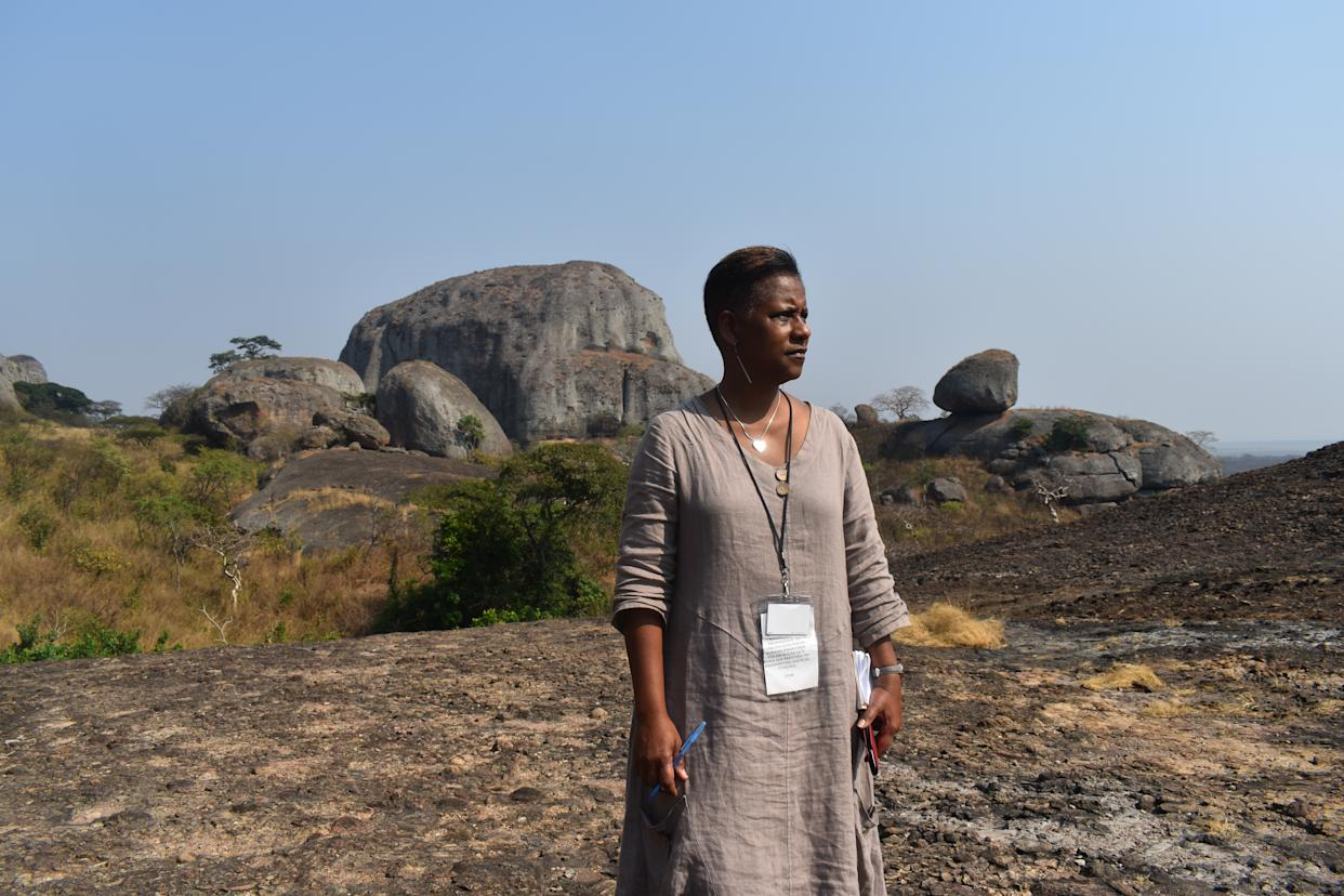 Deborah Barfield Berry spent months interviewing members of the Tucker family and chronicling the journey of Wanda Tucker, the family historian, who quickly accepted an invitation to travel to Angola to learn more about the origins of the people she believes are her ancestors.
