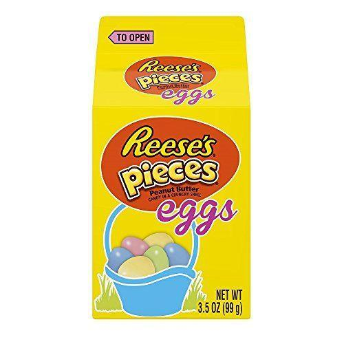 """<p><strong>Reese's</strong></p><p>amazon.com</p><p><strong>$39.99</strong></p><p><a href=""""https://www.amazon.com/dp/B004745438?tag=syn-yahoo-20&ascsubtag=%5Bartid%7C10070.g.2201%5Bsrc%7Cyahoo-us"""" rel=""""nofollow noopener"""" target=""""_blank"""" data-ylk=""""slk:Shop Now"""" class=""""link rapid-noclick-resp"""">Shop Now</a></p><p>Reese's Pieces became Easter-friendly with a pastel makeover from their typical orange-yellow-brown scheme. </p>"""