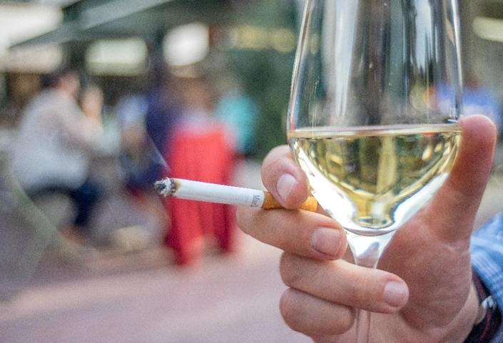 The WHO has singled out countries that have announced a target year to end tobacco use in their populations: Ireland by 2025, Scotland by 2034, Finland by 2040 (AFP Photo/Joe Klamar)