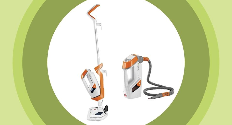 The Bissell PowerFresh Lift-Off Pet Steam Mop - Amazon.