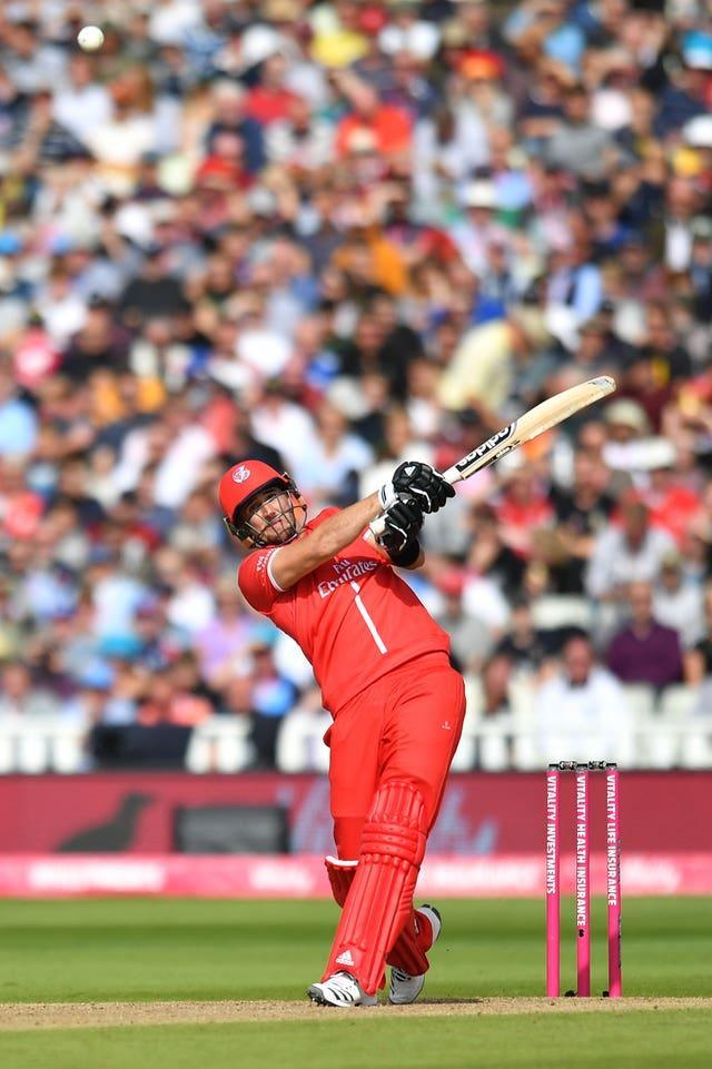 Lancashire's Liam Livingstone is ready for his second bite at international cricket.