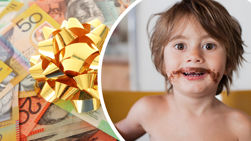 There's a hefty fee attached every time your friends have kids. Images: Getty