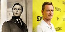 <p>There are a lot of characteristics that make Michael Fassbender the doppelgänger of <em>The </em><em>Sound of Music </em>star. But their strong build and prominent jawline are just a couple of examples.</p>
