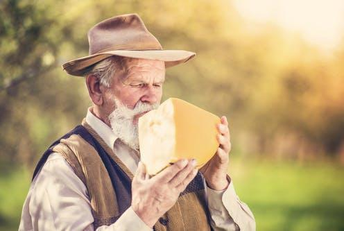 """<span class=""""caption"""">Get in there...</span> <span class=""""attribution""""><a class=""""link rapid-noclick-resp"""" href=""""https://www.shutterstock.com/image-photo/senior-farmer-organic-cheese-outside-green-283165046"""" rel=""""nofollow noopener"""" target=""""_blank"""" data-ylk=""""slk:Halfpoint/Shutterstock"""">Halfpoint/Shutterstock</a></span>"""