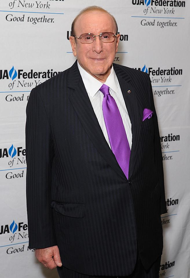 NEW YORK, NY - JUNE 21:  Clive Davis attends the UJA-Federation Of New York Music Visionary Of The Year Award Luncheon at The Pierre Hotel on June 21, 2013 in New York City.  (Photo by Rommel Demano/FilmMagic)