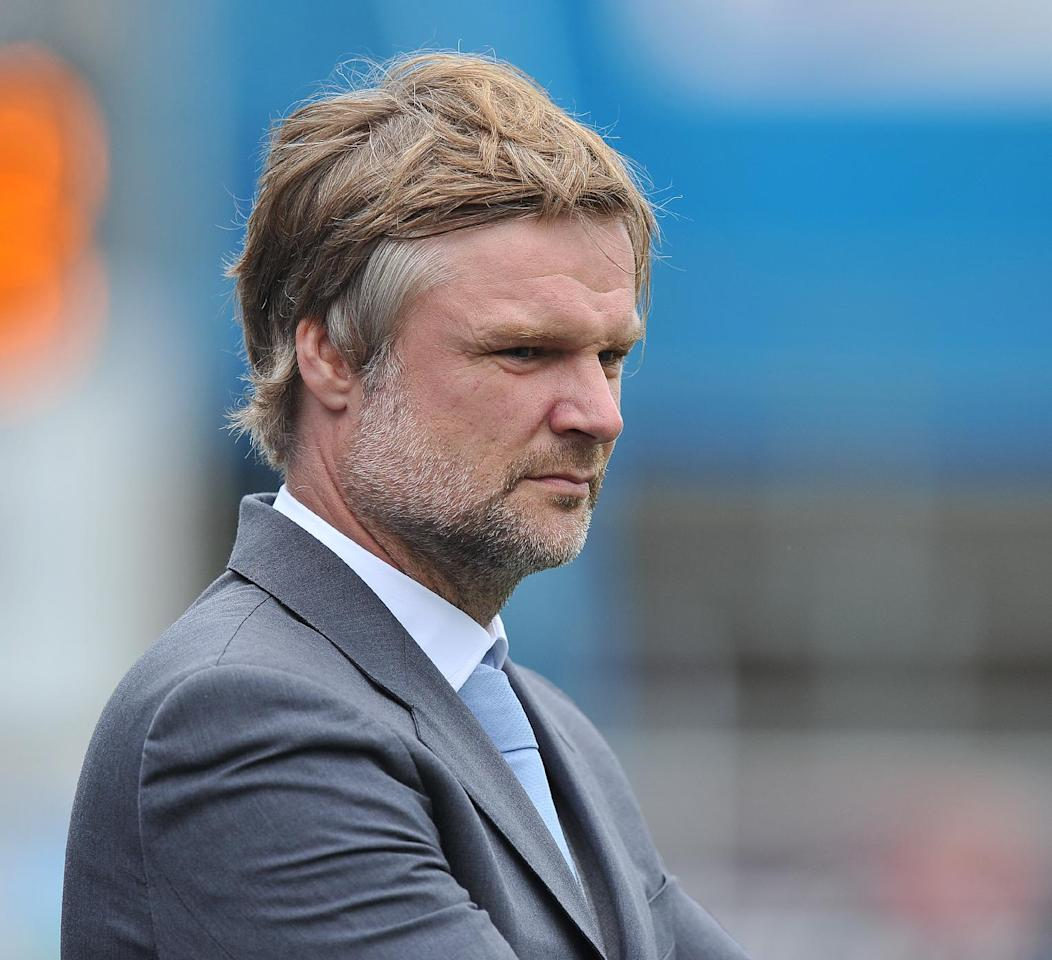 Coventry City's Manager Steven Pressley during the Sky Bet Football League One match at Brunton Park, Carlisle.