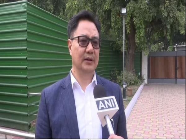 Union Minister Kiren Rijiju (File photo)