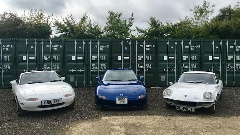 Mazda sports car legends