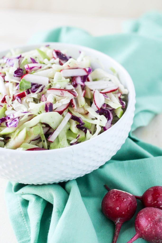 "<p>This is the perfect dish for a late summer barbecue.</p><p><strong>Get the recipe at <a href=""http://blackberrybabe.com/2016/05/23/cabbage-radish-apple-cole-slaw/"" rel=""nofollow noopener"" target=""_blank"" data-ylk=""slk:Blackberry Babe"" class=""link rapid-noclick-resp"">Blackberry Babe</a>.</strong></p>"
