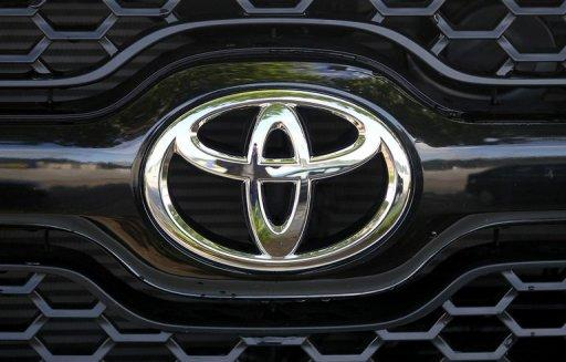 First quarter profits for Toyota shot up nearly 60 percent to 5.50 trillion yen
