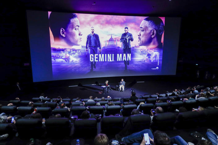"PARIS, FRANCE - SEPTEMBER 27: Ang Lee attends the Paramount Pictures, Skydance and Jerry Bruckheimer Films ""Gemini Man"" Post-Screening Q&A with Ang Lee at Cinema Pathe Beaugrenelle on September 27, 2019 in Paris, France. (Photo by Julien M. Hekimian/Getty Images for Paramount Pictures)"