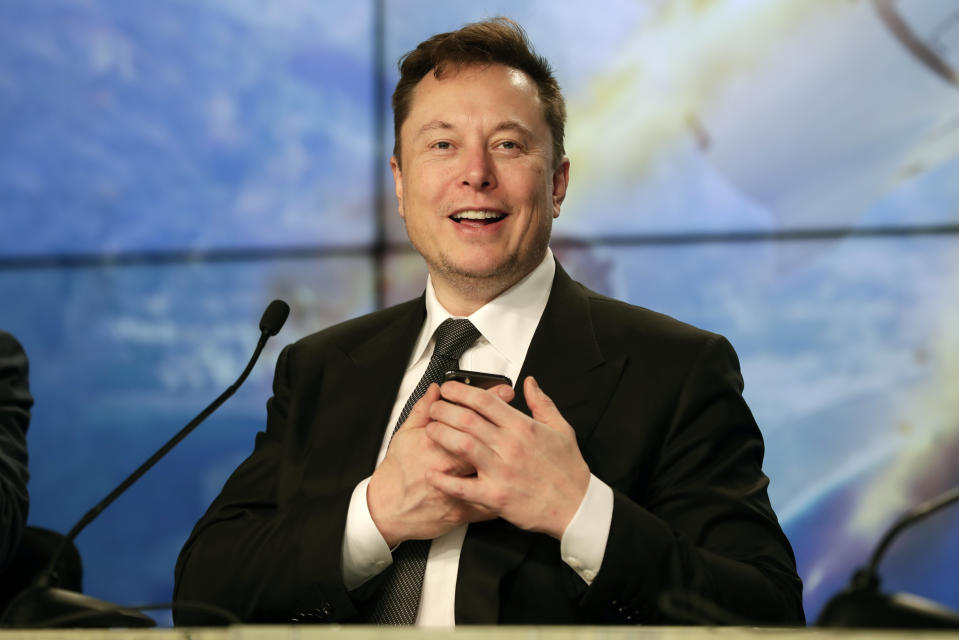 Elon Musk (AP Photo/John Raoux, File)