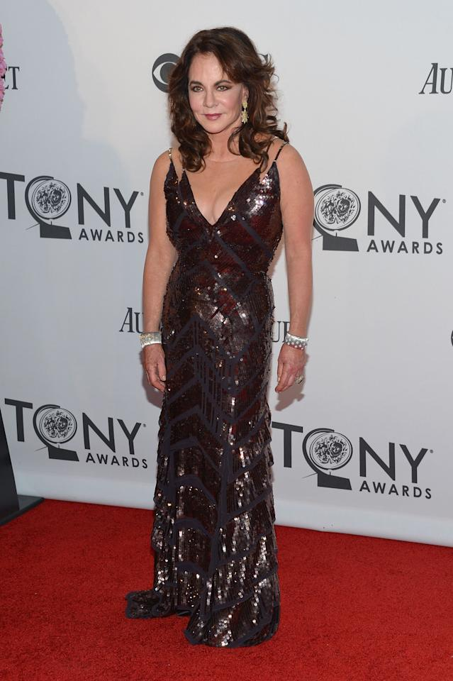NEW YORK, NY - JUNE 10:  Nominee Stockard Channing attends the 66th Annual Tony Awards at The Beacon Theatre on June 10, 2012 in New York City.  (Photo by Mike Coppola/Getty Images)