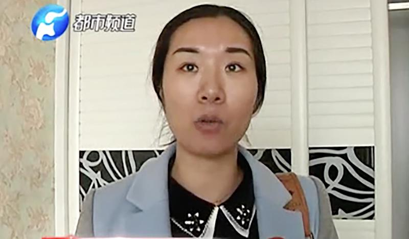 Chinese woman finds flat stripped clean by burglars