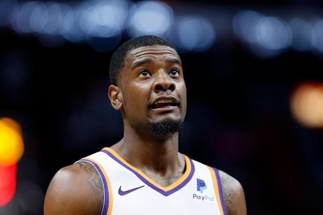 """What was supposed to be a chance to meet <a class=""""link rapid-noclick-resp"""" href=""""/nfl/players/31015/"""" data-ylk=""""slk:Josh Jackson"""">Josh Jackson</a> ended up in free beer for <a class=""""link rapid-noclick-resp"""" href=""""/nba/teams/phoenix/"""" data-ylk=""""slk:Suns"""">Suns</a> fans. (Getty)"""