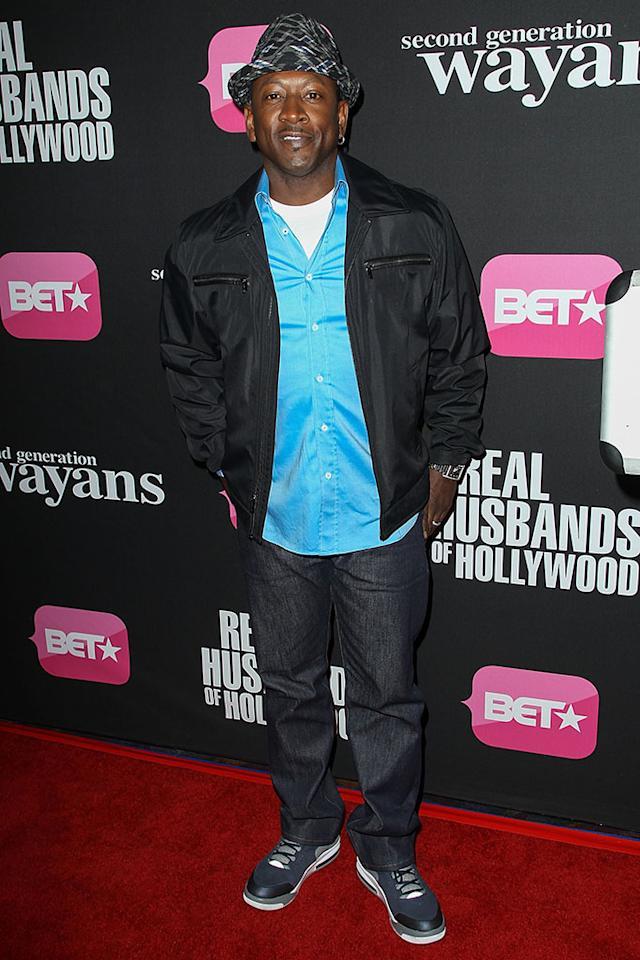 "Joe Torry arrives at the screenings of BET Networks' ""Real Husbands of Hollywood"" and ""Second Generation Wayans"" held at the Regal Cinemas L.A. Live on January 8, 2013 in Los Angeles, California."