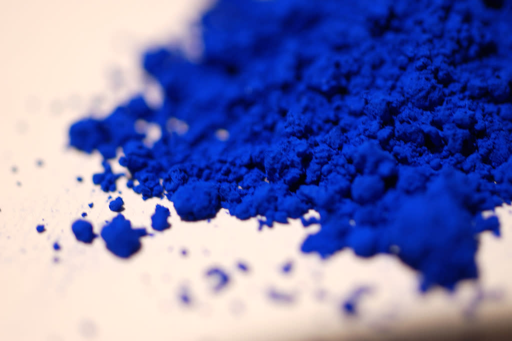 "YinMin Blue – Chennai-born Mas Subramanian and his team accidentally created a vivid new blue that has been described as ""near perfect"" while testing the electronic properties of manganese oxide. It's a mix of Yttrium, Indium and Manganese. Source: https://www.morningnewsusa.com/yinmn-blue-newest-color-added-wheel-2386587.html"