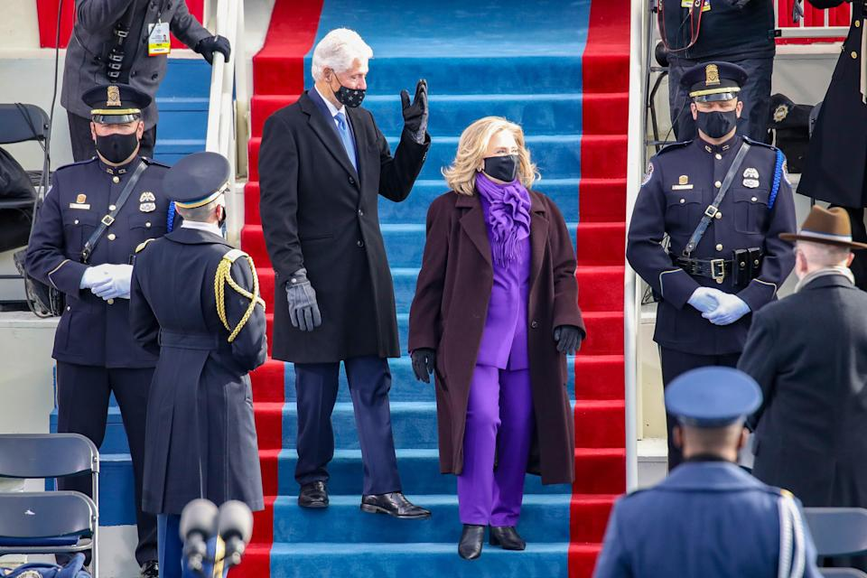 Why is everyone wearing purple during Inauguration Week?