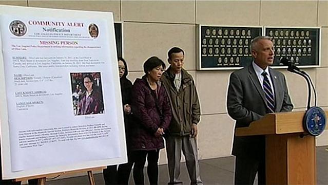 Lt. Walter Teague says Elisa Lam was last seen at the Cecil Hotel in Los Angeles